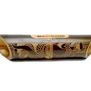 Altavoz de bambú grabado Gecko Skin 2