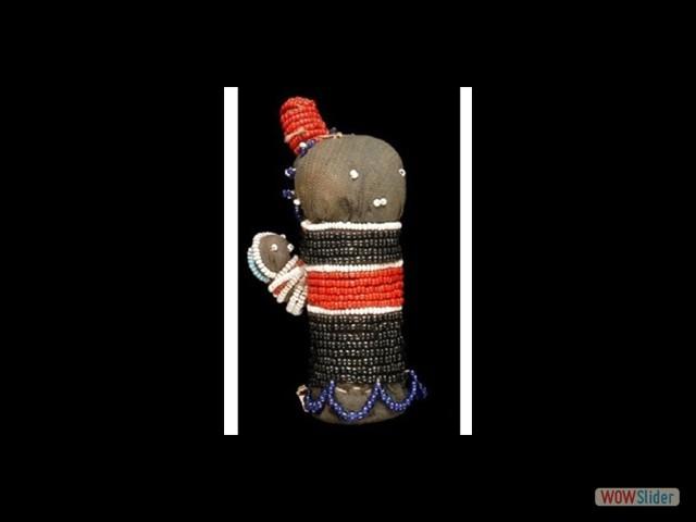 Poupée talisman du Lesotho