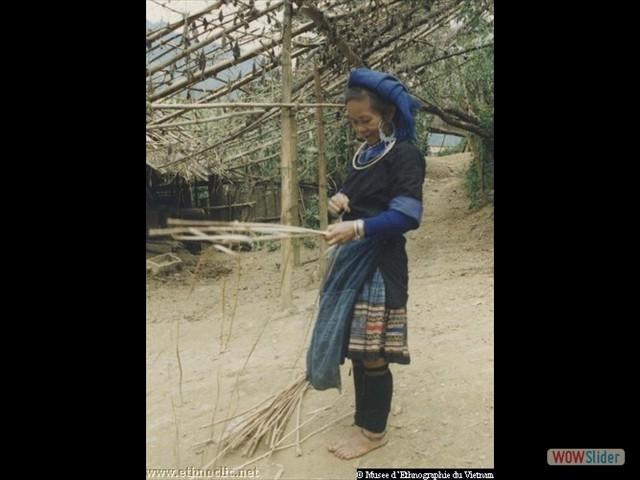 Jupe en chanvre (Vietnam)
