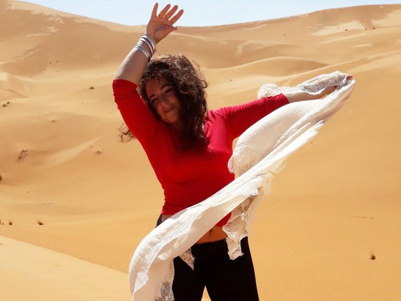 Tanzen in den Dünen - der Feuer-Tanz