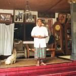 BALI Palmblatt-Lesung Palmblatt-Reading