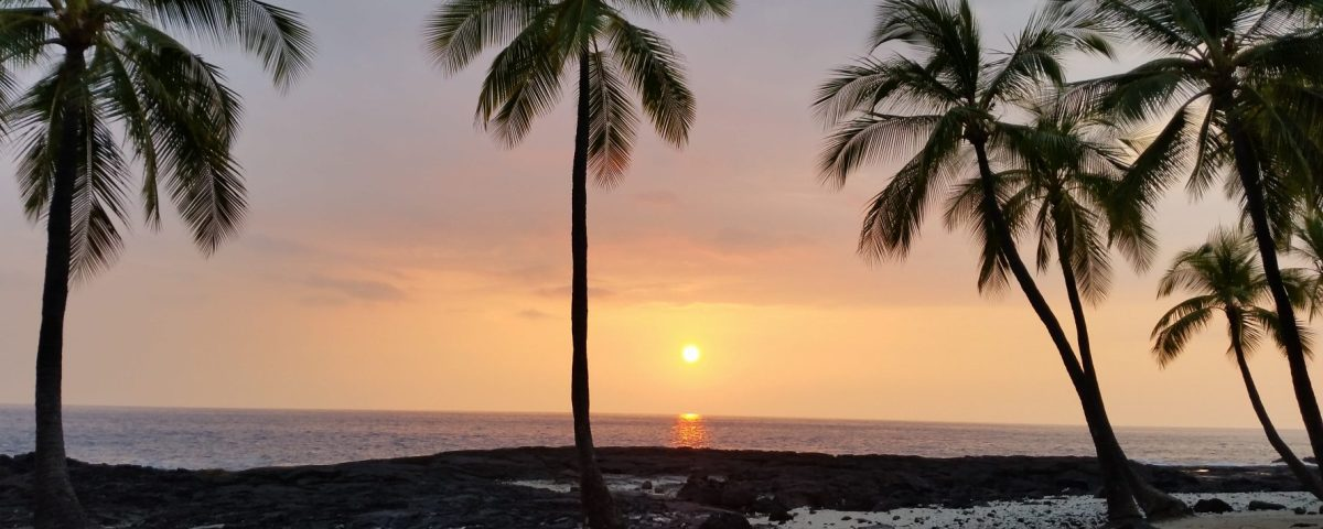HAWAII Big Island Sunset