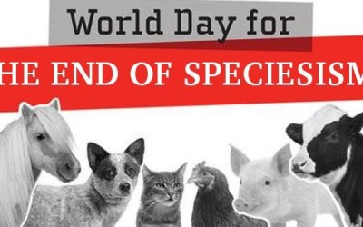 Have you ever heard of Speciesism? (Αction for the WoDeS – World Day For the End of Speciesism)