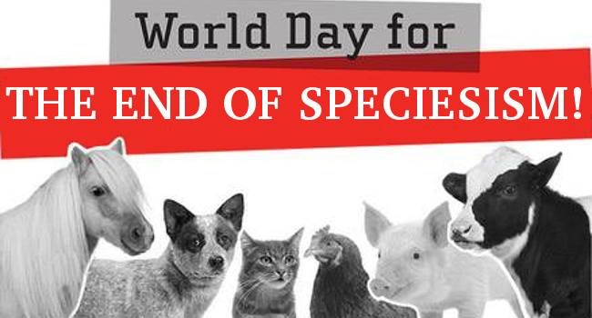 Have you ever heard of Speciesism?