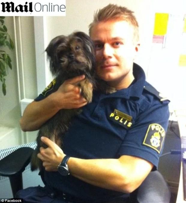 Policial-que-achou-cão