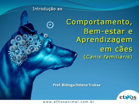 Instituto de Biociencias IB-USP mini curso comportamento canino semana temática da biologia ethos animal helena truksa 12