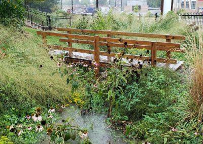 Crescent Early Childhood Center Rain Gardens