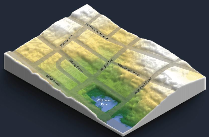 Wightman Park Terrain