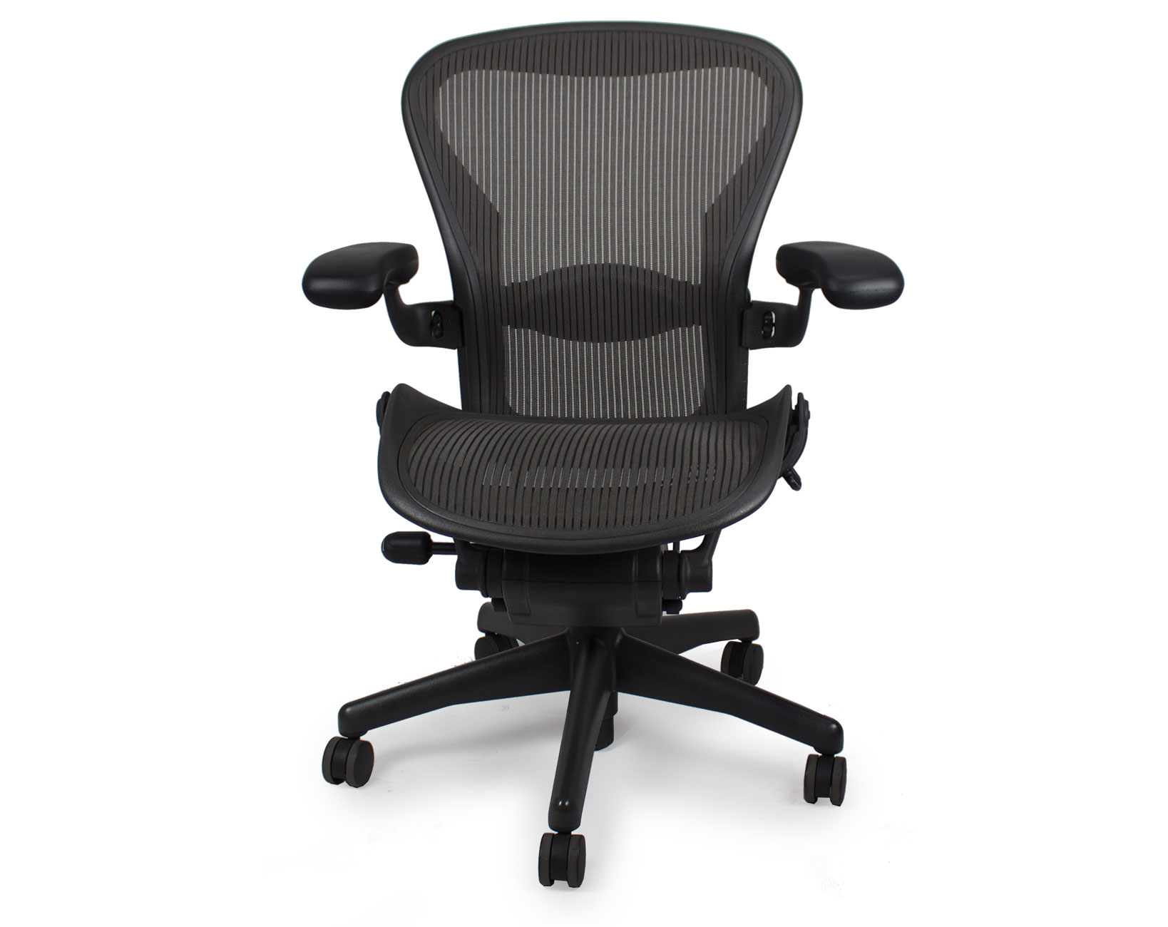 Aaron Chair Used Herman Miller Aeron Chair Graphite Frame Carbon Pellicle Mesh
