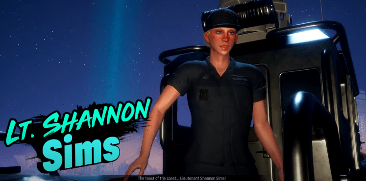 Maneater Infamy Guide LT.Shannon Sims
