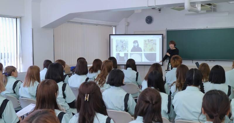 4/20(木)住田美容専門学校にて撮影講座を開催しました。