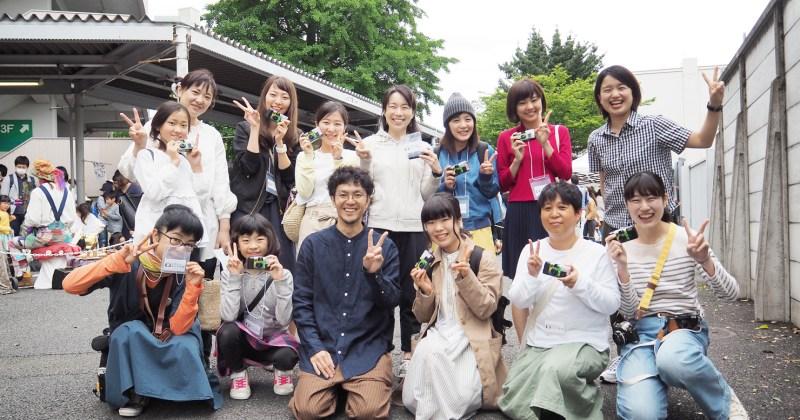 5/13(土)・14(日)東京蚤の市にて写真のワークショップとフォトコンテストを開催しました!