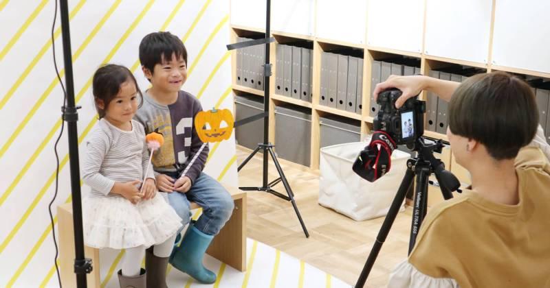"""10/22(日)無印良品 有楽町「ハロウィン企画『子どもの写真で""""飾れる""""フォトレターを作ろう!』」を開催しました!"""