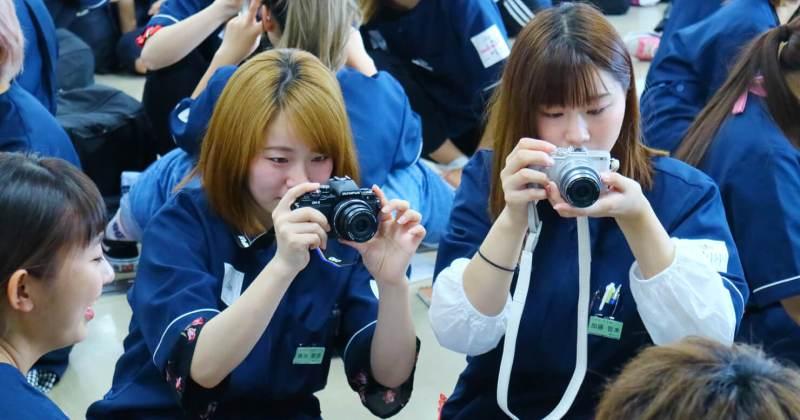 6/28(木)住田美容専門学校にて撮影講座を開催しました。