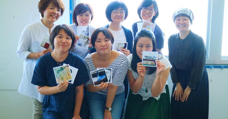 8/21(火)たのしいカメラ学校×手紙舎「たのしいカメラ学校 ♡ かんたんiPhone講座」を開催しました。