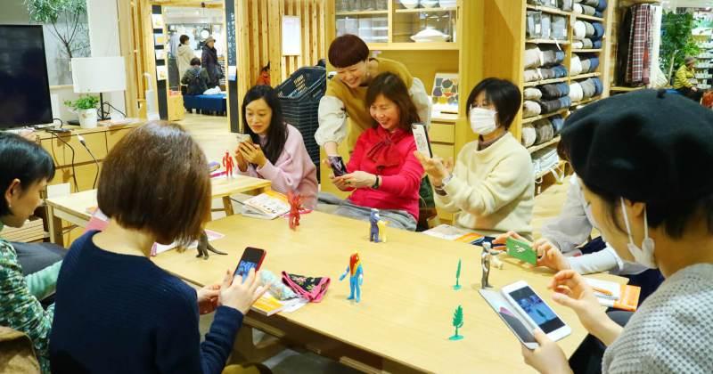 2/16(土)無印良品 小田急町田『カメラ1年生 iPhone・スマホ写真編』出版記念「入門者のためのiPhoneカメラ教室」を開催しました!
