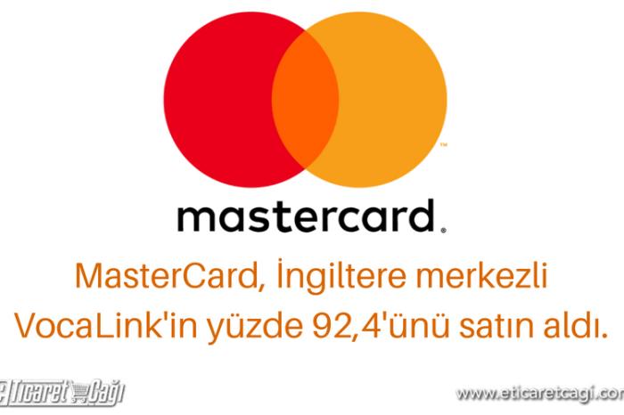 MasterCard, VocaLink Holdings Limited'i satın aldı
