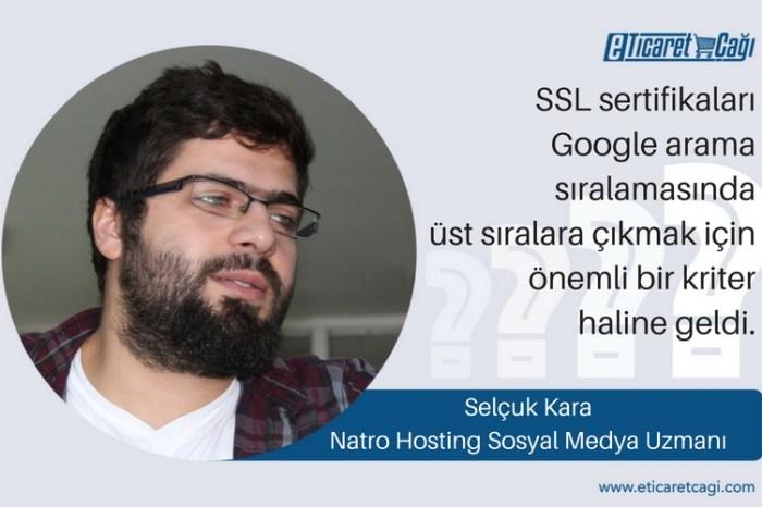 Hangi SSL sertifikasının benim e-ticaret siteme daha uygun olduğuna nasıl karar verebilirim?