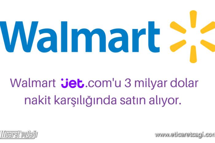 Walmart, Jet.com'u satın alıyor