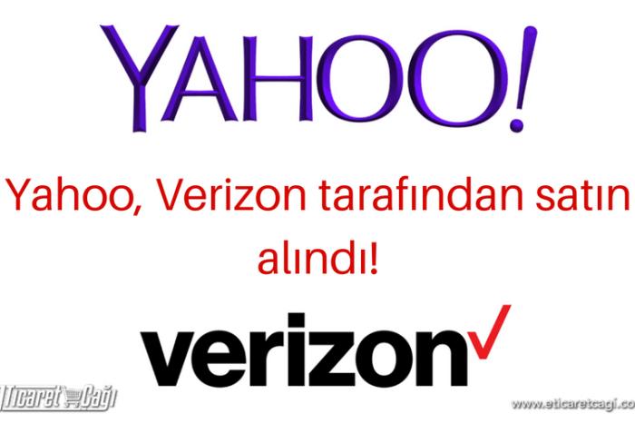 Yahoo, Verizon tarafından satın alındı