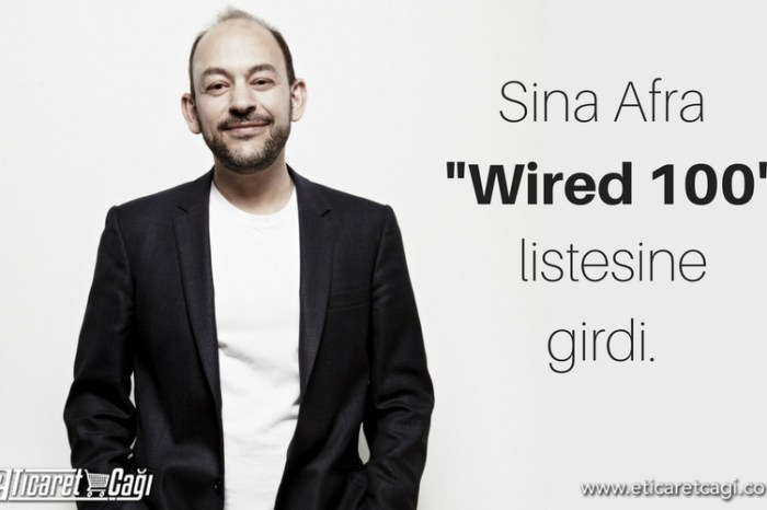 "Sina Afra, ""Wired 100"" listesine girdi"