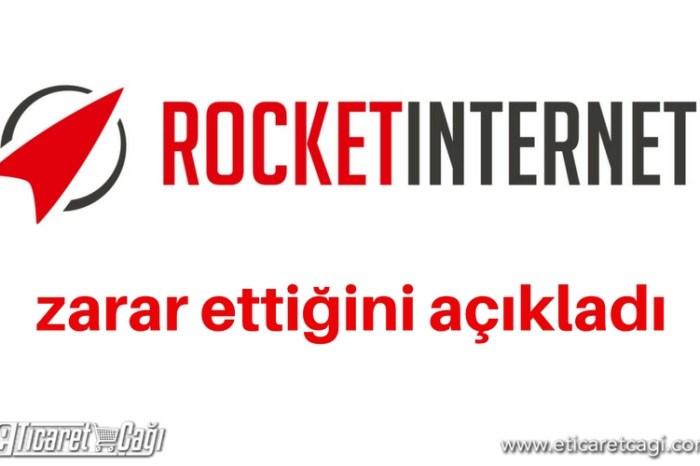 Rocket Internet zarar ettiğini açıkladı.