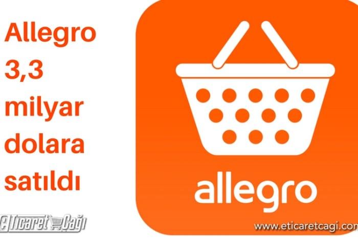 Allegro 3,3 milyar dolara satıldı