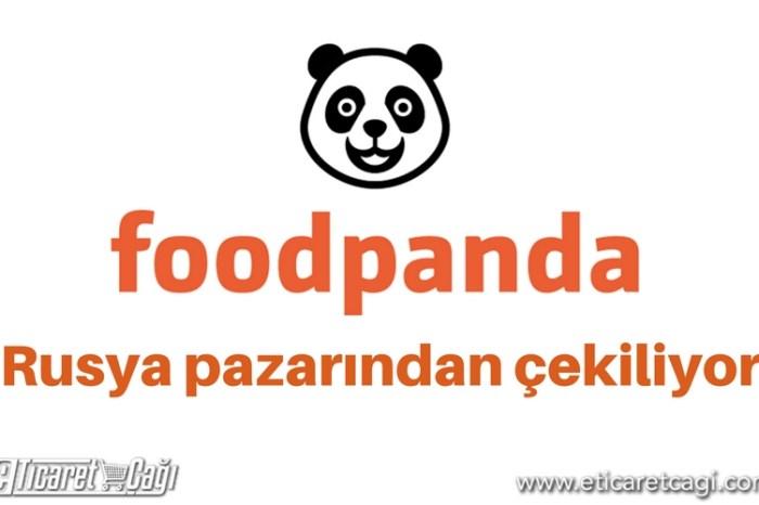 Foodpanda Rusya pazarından çekiliyor