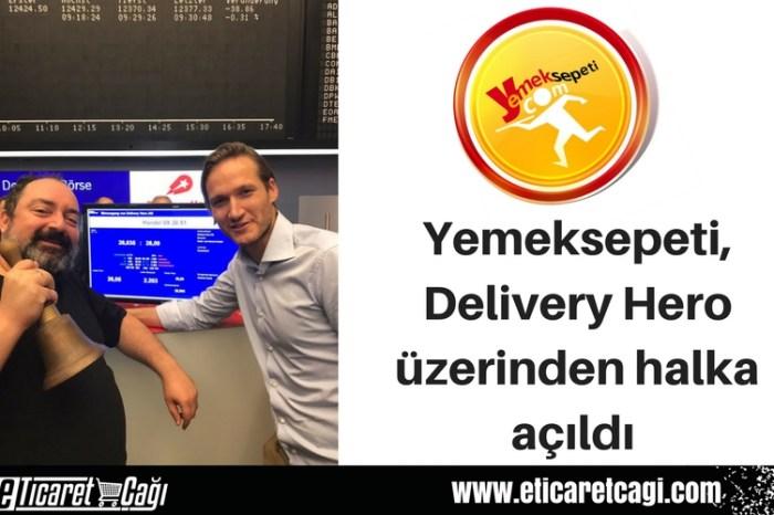 Yemeksepeti, Delivery Hero üzerinden halka açıldı