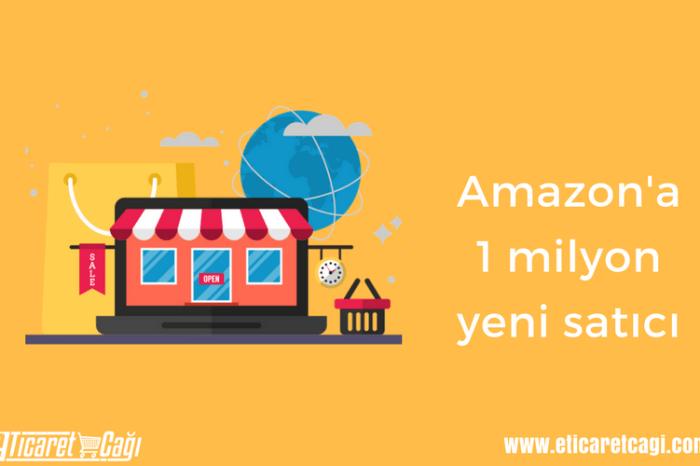 Amazon'a 1 milyon yeni satıcı