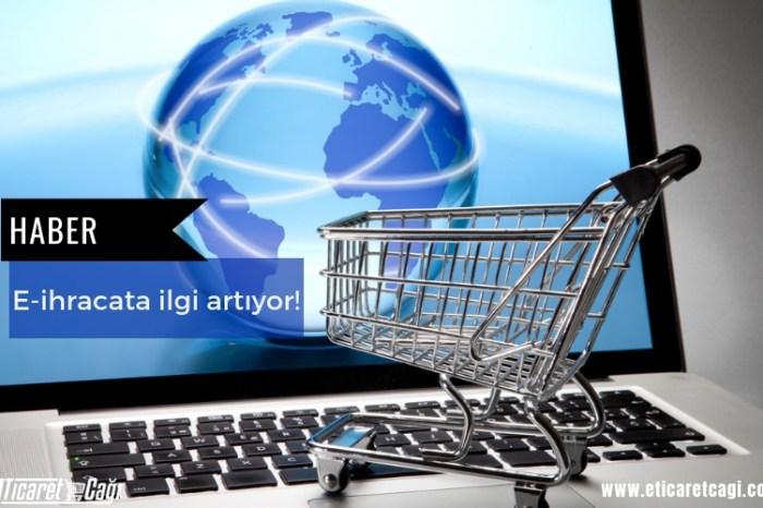 E-ihracata ilgi artıyor!