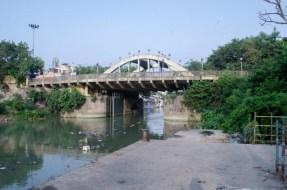 Matching the view, Chitpur Bridge in Bagbazar. Courtesy, Kawshik Anandya Kirtaniya