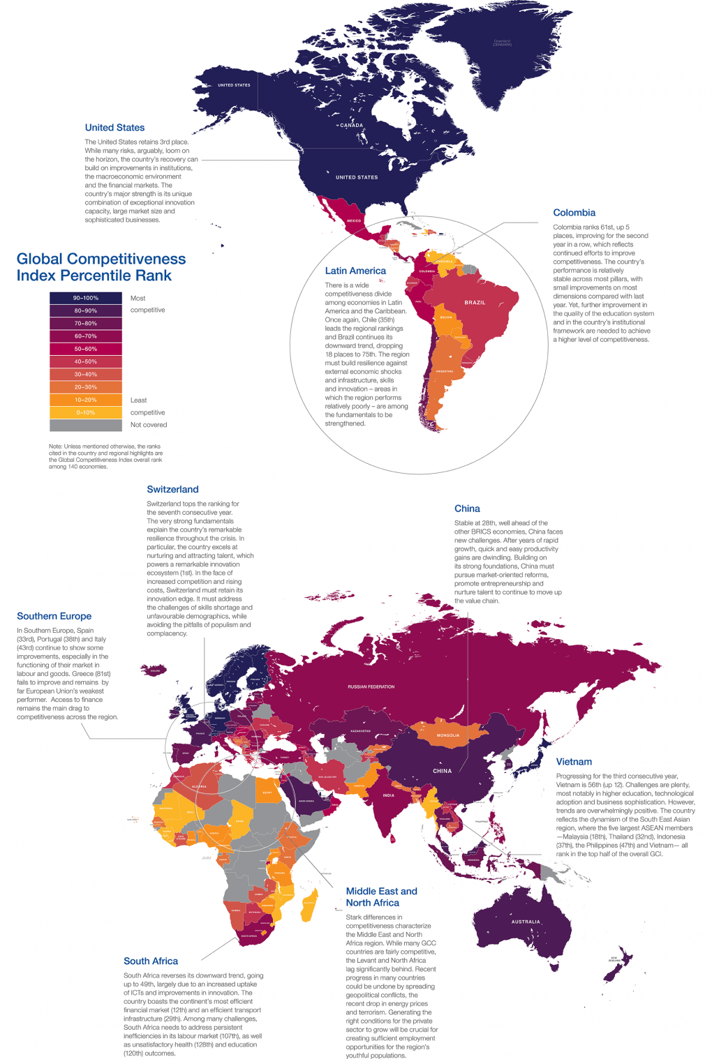 The Global Competitiveness Map