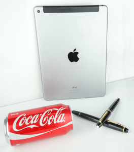 Apple, Coca-Cola and Mont Blanc Registered Trademarks