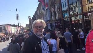 Etienne van Heerden in London
