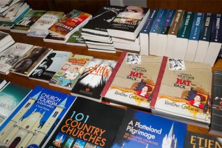 Fogarty's book shop, Port Elizabeth, presented a book table (Photo: Amy Coetzer)