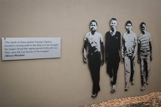 "The Cradock Four – Nelson Mandela: ""They were the true heroes of the struggle."" (Photo: Amy Coetzer)"