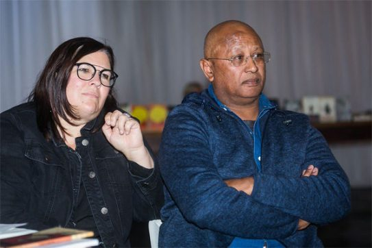 Ilze le Roux and Kirby van der Merwe (Photo: Amy Coetzer)