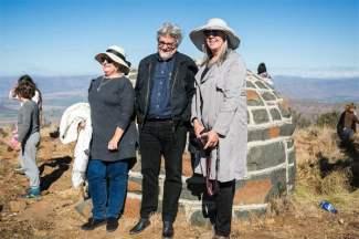 Wilna Adriaanse, Etienne van Heerden and Lien Botha (Photo: Amy Coetzer)