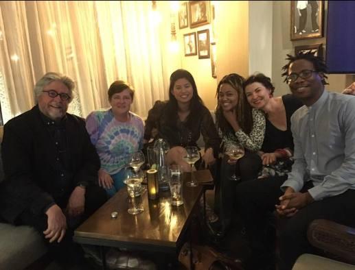 With Colleen Higgs, Winnie M Li, Mbali Sikanana, Isobel Dixon and Masande Ntshanga.
