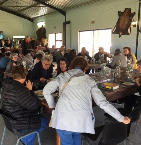 Lunch at Buffelshoek Dirosie Lodge