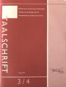 taalschrift 1