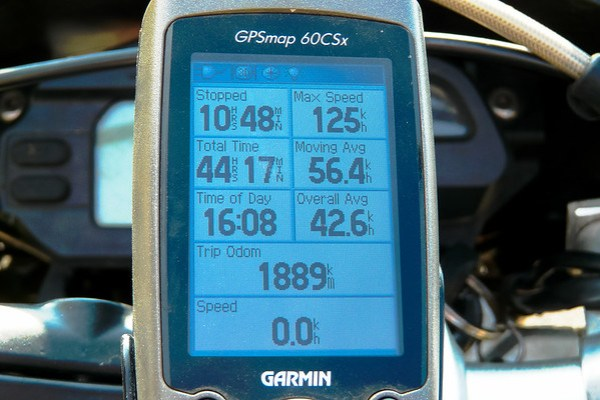 Lesotho GPS Summary of my ride
