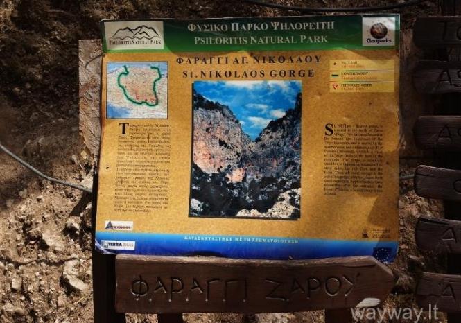 St. Nikolaos kanjonas ( Zaros Canyon )
