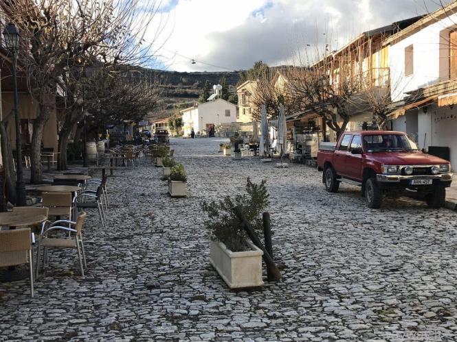 Omodos. Cyprus