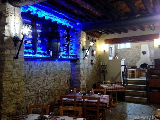 Katoi restaurant. Omodos. Cyprus