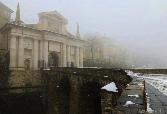 Italija. Bergamas