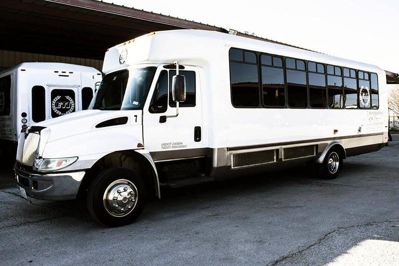 Mid Size Coach Bus