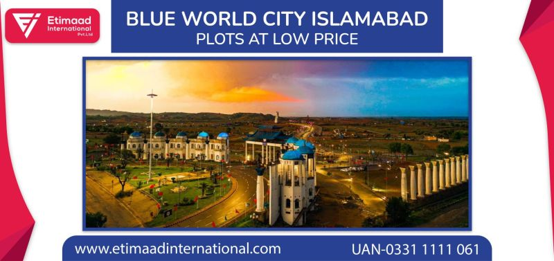 Blue World City Residential and Commercial Plots at low price