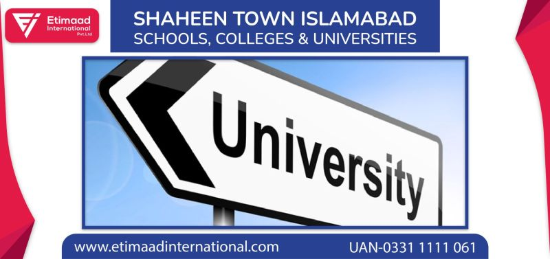 Shaheen Town Islamabad Schools, Colleges and Universities